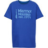 Marmot Boys 74 Tee SS Royal